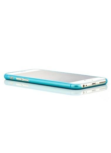 Microsonic Ultra Thin 0.2Mm iPhone  6 (4.7'') Kılıf Mavi Renkli